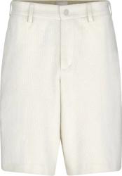Dior X Shawn Stussy White Ribbed Corduroy Shorts