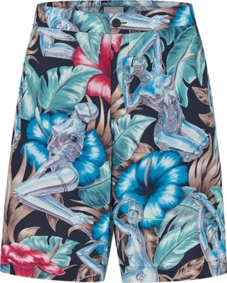 Dior X Sorayama Black Shorts