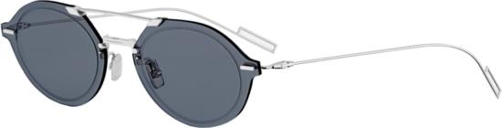 Diorchrome3 Grey And Silver Sunglasses