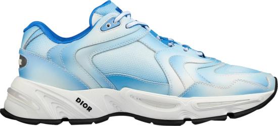 Diro White Blue Tie Dye Cd1 Sneakers