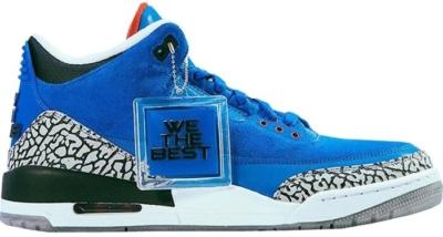 Dj Khaled X Air Jordan Retro 3 Father Of Asahd Sneakers