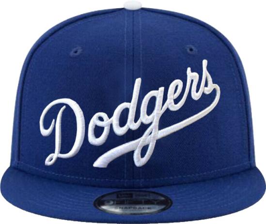 Dodgers Wordmark 59fifty