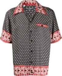 Dolce And Gabbana Bandana Print Hawaiian Shirt