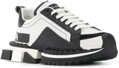 Dolce And Gabbana Black And White Chunky Sneakers