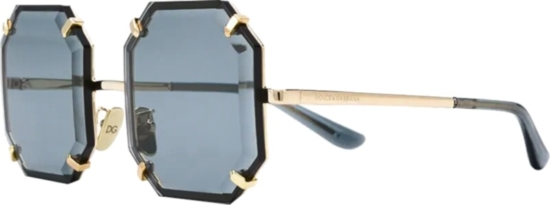 Dolce And Gabbana Hexagon Lens Glasses