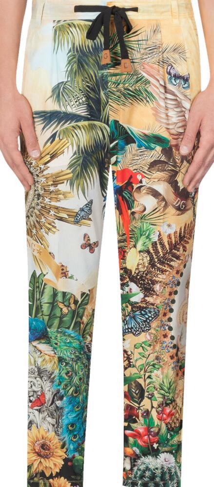 Dolce And Gabbana Safari Print Shorts