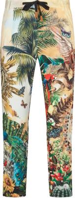 Dolce Gabbana Tropical Dg King Print Jogging Pants