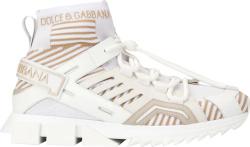 Dolce Gabbana White High Top Sorrentino Trekking Sneakers