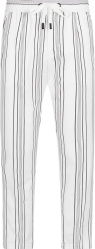 Dolce Gabbana White Striped Jogging Pants Gyu6etfrrdfs8051