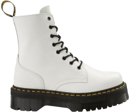 Dr Martens White Jadon Boots