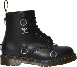 Dr. Martens x Raf Simons Black & Ring Detail '1460' Boots