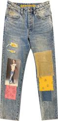 Drew House Patchwork Indigo Jeans