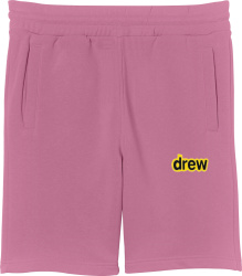 Drew House Purple Sweatshorts