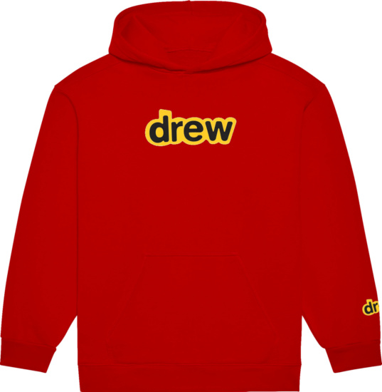 Drew House Red Secret Logo Hoodie