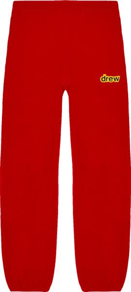Drew House Red Secret Logo Sweatpants
