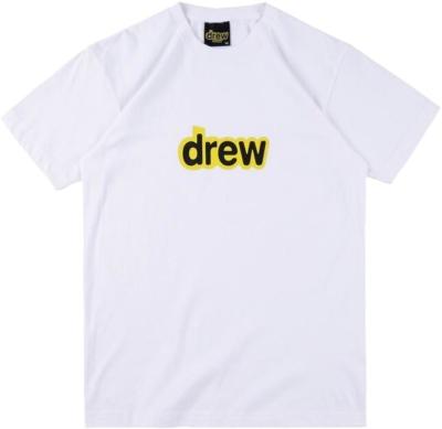 Drew White T Shirt