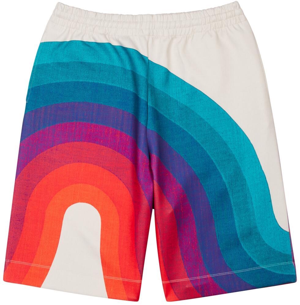 Dries Van Noten Wave Print Shorts