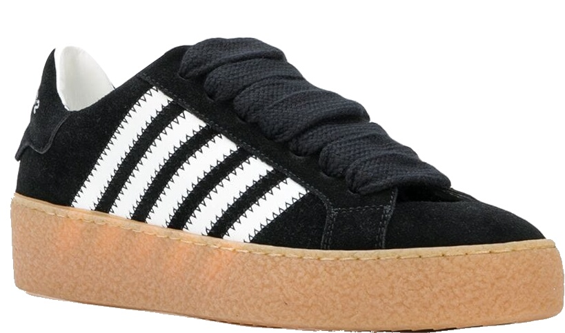 Dsquared 2 Black Barney Sneakers