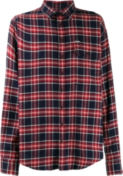 Dsquared2 Blue And Red Check Shirt