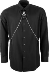 Dsquared2 Chain Detail Black Shirt