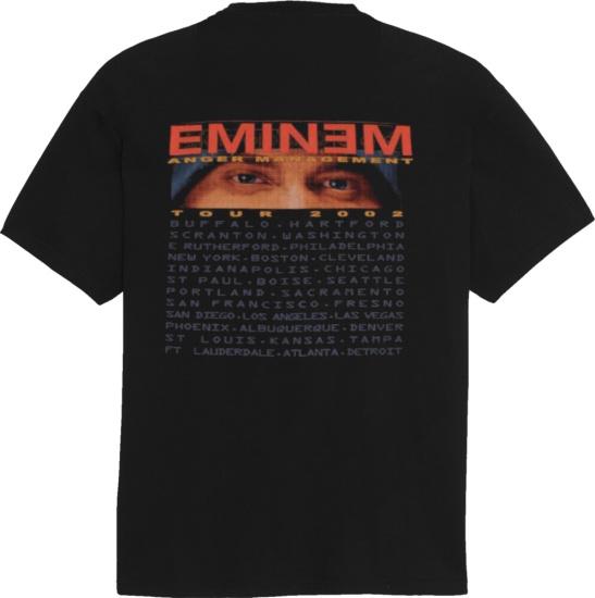 Eminem Vintage Anger Management Tour 2002 T Shirt