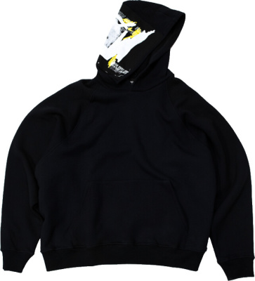 Enfants Riches Deprimes Black Patch Hoodie