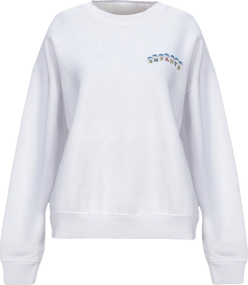 White 'Madness' Sweatshirt