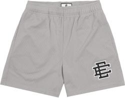 Eric Emanuel Grey And Black Ee Logo Shorts