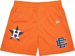 Eric Emanuel X Houston Astros Orange Gym Shorts