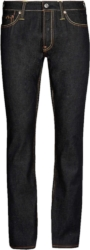 Evisu Logo Print Tapered Jeans