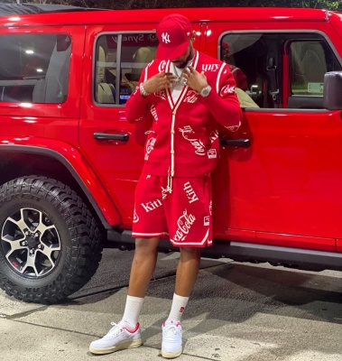 Fabolous Shows Off His Kith X Coca Cola Fit On Instagram