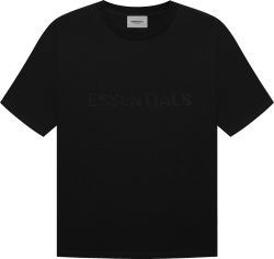 Fear Of God Black Essentials T Shirt