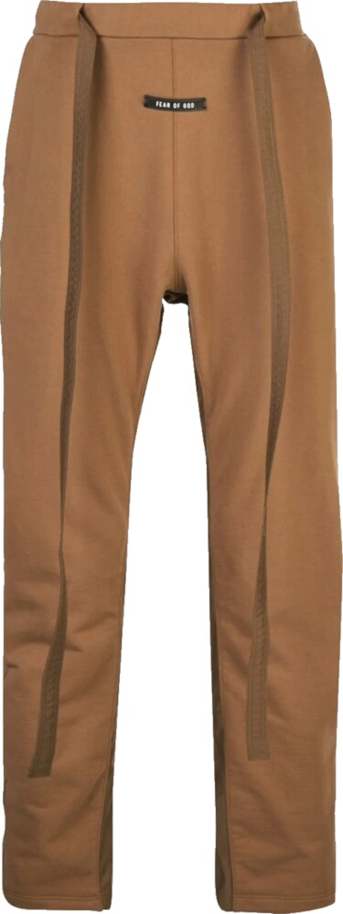 Fear Of God Brown Drawstring Sweatpants