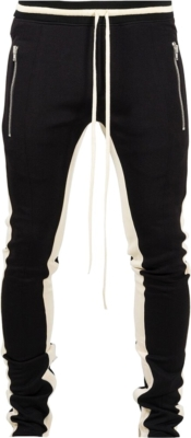 Fear Of God Double Stripe Black Track Pants