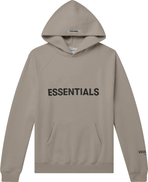 Fear Of God Essentials Taupe Hoodie