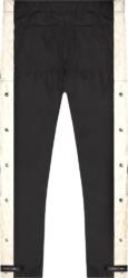 Fear Of God Side Stripe Snap Black Cargo Pants
