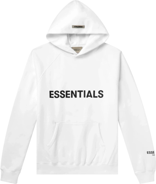Fear Of God White Essentials Hoodie