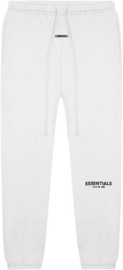 Fear Of God White Essentials Sweatpants