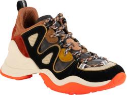 Orange & Black 'FFluid' Sneakers