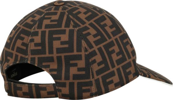 Fendi Ff Brown Hat