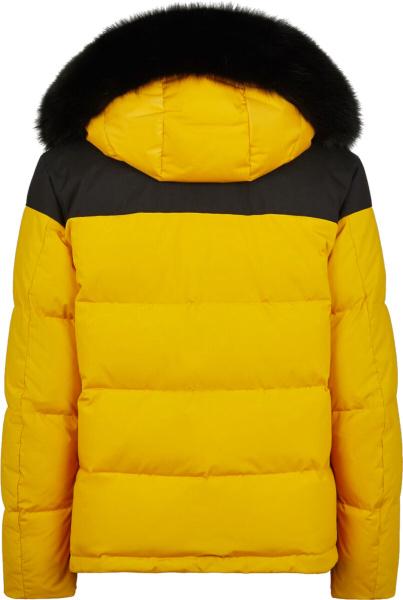 Fendi Yellow And Black Ski Puffer Jacket