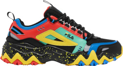 Fila Black And Multicolor Oakmont Tr Sneakers