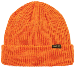 Filson Orange Knit Beanie Worn By Kevin Gates