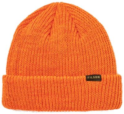 Filson Orange Knit Beanie Worn By Kevin Gates