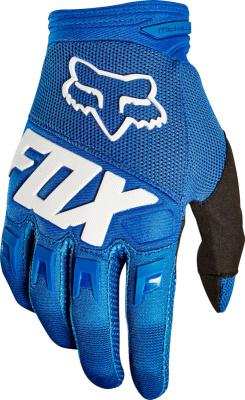 Fox Racing Blue Dirtpaw Gloves