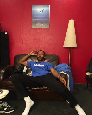 Frank Ocean Instagram From 3 27 19 Wearing Blue Lovers T Shirt Incorporated Style Cover Img