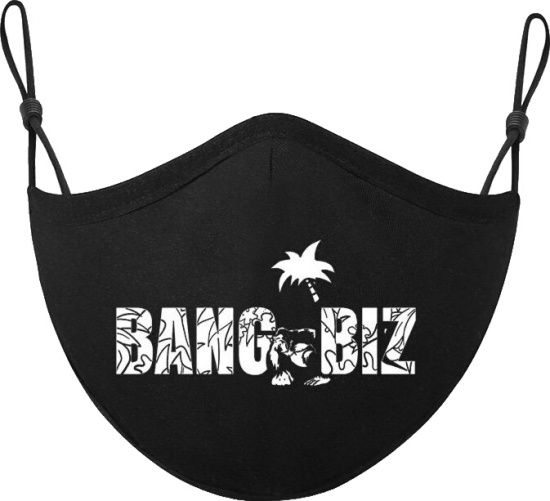 Fredo Bang Black Bang Biz Face Mask