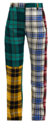 French Montana Plaid Suit Pants