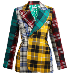 French Montana Plaid Suit Worn In Music Video