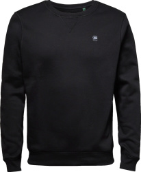 Black 'Premium Core' Sweatshirt